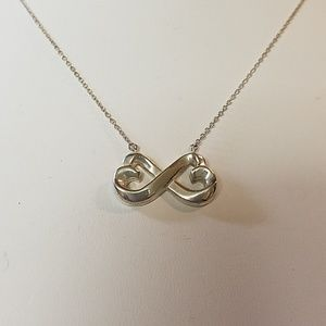 Tiffany & Co. Picasso Infinity Heart Necklace